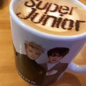 Super Juniorマグカップ٩(๑^o^๑)۶