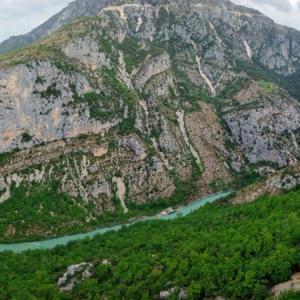【Grand Canyon du Verdon】ニースから2時間半の超絶景 ヴェルドン渓谷グラン・カニヨン / SENTIER du L'IMBUT / La Palud-sur-Verdon