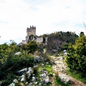 【Col de Châteauneuf】コル・ド・シャトーヌフ/ニースから45分で行ける古城跡 Vol.2