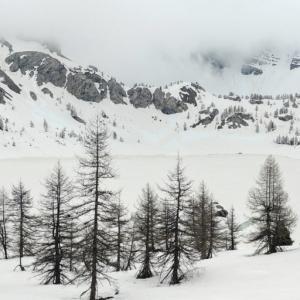 【Lac d'Allos / Le parc national du Mercantour】アロス湖/ニースから3時間まさかの雪中ハイキング