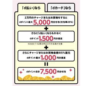 d払いがマイナポイント8500円還元に増額 30%還元「お買物ラリー」も実施