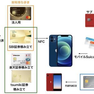 100万円修行中 クレジットカードのポートフォリオ【2021年夏】