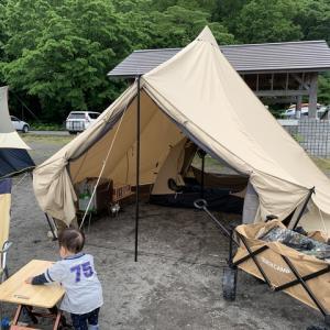 6/27〜28 30年ぶりの支笏湖モラップキャンプ場で初母子キャンプ!
