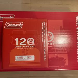 Coleman120周年ギアGET!&ちょこっとお知らせ