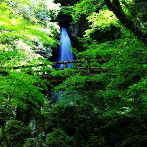 恋愛成就のパワースポット[長沢の滝]高知県高岡郡津野町