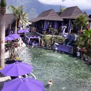 バリの人気ある温泉