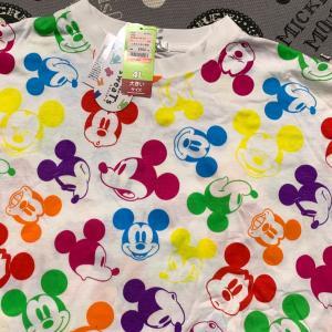 しまむらのミッキーTシャツをリメイク!