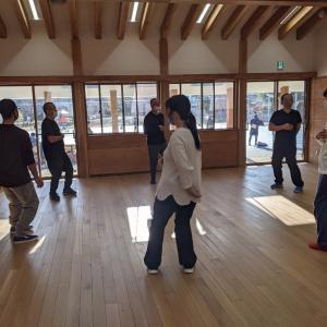 本日の新年休みの太極拳教室