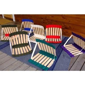 おこもりお座敷キャンプにピッタリの座椅子を発見!ベーカーテントと合わせてもかっこよさそう!