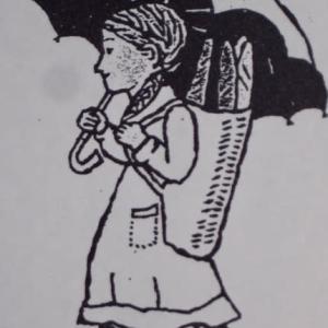 茂田井武「パリーノコドモ」(小石川・子ども風土記-17)