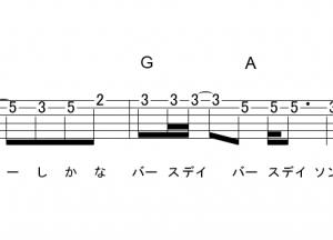 「TEENAGE RIOT (サビ)」【米津玄師】_ギターTAB譜(メロディ+コード)