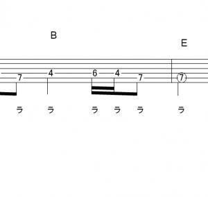 「灰色と青(+菅田将暉)(サビ)」【米津玄師】_ギターTAB譜(メロディ+コード)