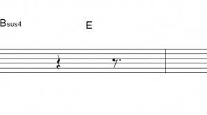「 ノーチラス (サビ)」【ヨルシカ】_ギターTAB譜(メロディ+コード)