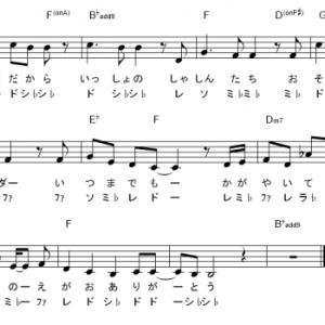 けいおん(放課後ティータイム) サビ・ドレミ付き楽譜集 5曲