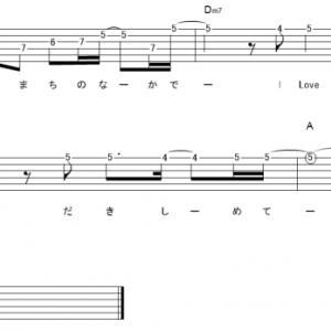 「I LOVE...(サビ)」【Official髭男dism】_ギターTAB譜(メロディ+コード)
