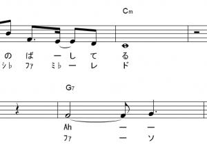 YOASOBI ドレミ付き楽譜  (3曲) 夜に駆ける、ハルジオンなど