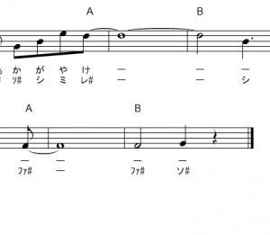 ソードアートオンライン(SAO)ドレミふりがな付き簡単楽譜【無料】  (4曲) ANIMA など