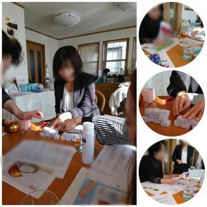サロン経営と商品の勉強会 栃木県鹿沼市フェイシャルエステ エステスクール