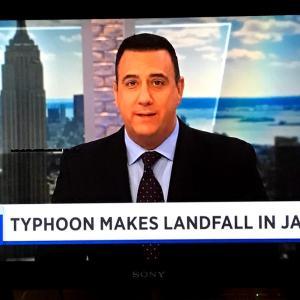 NYも台風を心配❗️とラーメンコンテスト結果