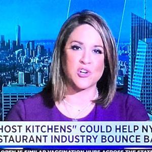 ゴーストレストラン、ニューヨークに現る❗️