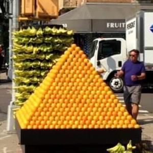 閃光のごとく配達されるフルーツ⁉️@NY