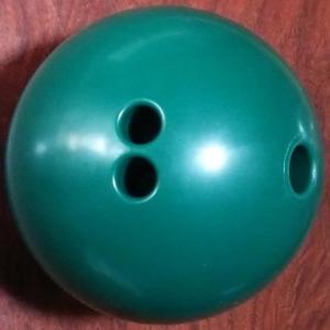 ボウリング練習用ゴムボール