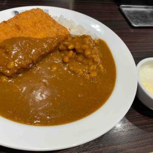ココ壱番屋で7辛を食べる。