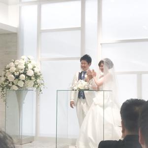 中学時代からの友人の結婚式へ!