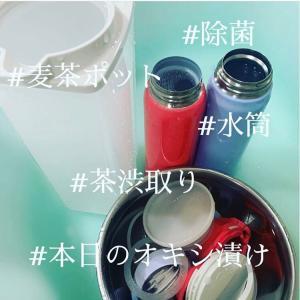 【本日のオキシ漬け】水筒が欠かせない季節