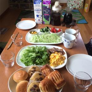 朝食ビュッフェ@おうち、リピート開催。
