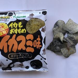 長嶋一茂イチオシの「イカスミ味」ポテチ