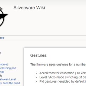 Silverware: ジェスチャーコマンド