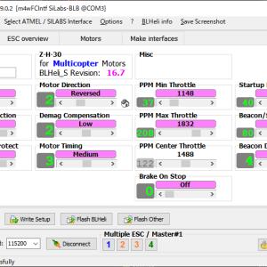 BETAFPV HX115 LR レビュー(5) / ESC