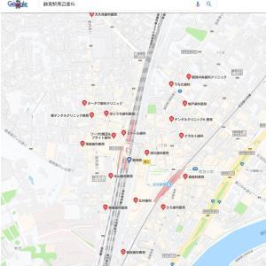 来店型のホームページにはGoogleマップが必須です。