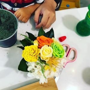 花材色々 タイのソラの木 トライアルレッスン