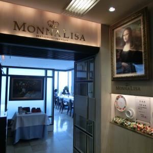 「丸ビル36階のフランス料理」と「ミニ丸の内散策」:モナリザ(1)