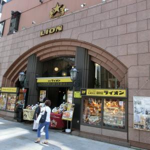 銀座で日本最古のビアホールを探訪~銀座散策~神社・裏路地巡り~(7):銀座ライオン/ルパン/三輪神社