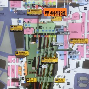 山手線で最も標高の高い地点を探索~新宿駅構内を散策(1)