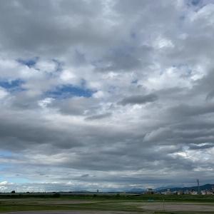 日曜日の今日も曇りで終わります