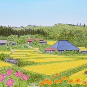 美しい里   岩手県藤沢町大籠