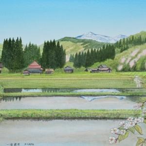 萩荘の初夏   一関市萩荘