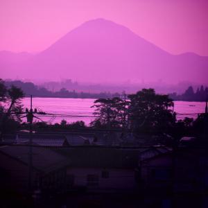 近江富士久し
