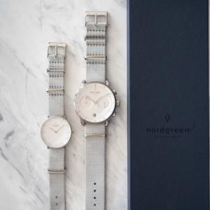 彼氏、彼女への贈り物におすすめ、北欧腕時計Nordgreen。限定ストラップを手に入れるなら今!9/30までキャンペーン延長!!