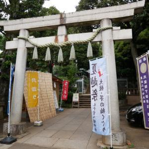 【東京】太子堂八幡神社(2019年5月限定・夏越大祓限定御朱印)