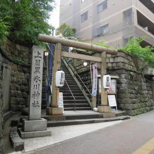 【東京】上目黒氷川神社(2019年夏詣限定御朱印)