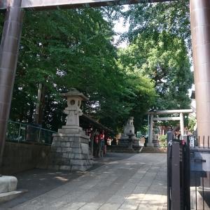 【東京】諏訪神社(2019年7月限定御朱印)
