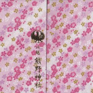 【埼玉】川越熊野神社の御朱印帳