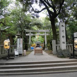 【東京】赤坂氷川神社(2019年例大祭限定御朱印)