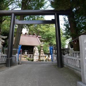 【東京】高円寺氷川神社(2019年9月限定御朱印)