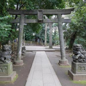【東京】渋谷氷川神社(2020年1月限定御朱印)